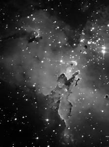 White Colored Nebula - Pics about space