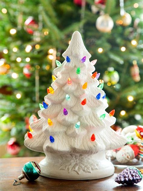 illuminated tabletop ceramic christmas tree a popular