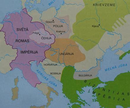 Eiropas Valstis 6 Gadsimtā Karte - Foto Kolekcija