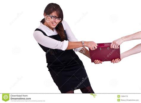 femme de bureau femme de bureau dans le studdio image libre de droits