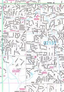 Oakland County Michigan City Map