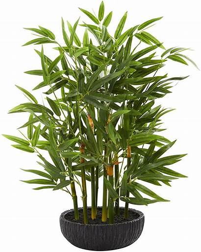 Artificial Plants Plant Silk Bamboo Isle Bay