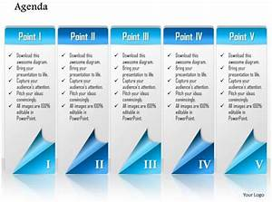 Sample Advertising Proposal 1014 Business Plan Five Points Agenda Workflow Powerpoint