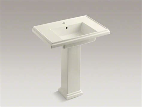 kohler tresham pedestal sink 30 kohler tresham r 30 quot pedestal bathroom sink with single