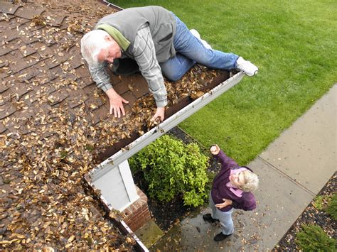 dont clean  dirty gutters