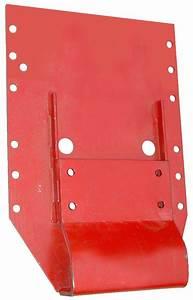 Flat-top Fender Mounting Bracket - Rear Rims  Fenders - Farmall Parts