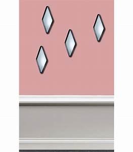 Deco Metal Mural : miroir mural d co losange m tal noir ~ Nature-et-papiers.com Idées de Décoration