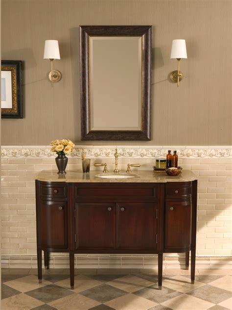 brushed nickel drawer choosing a bathroom vanity hgtv