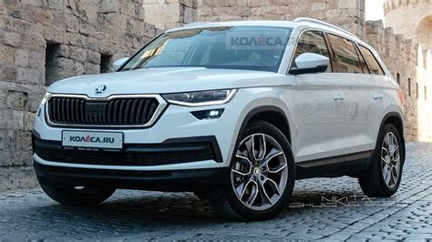 2021 Skoda Kodiaq Facelift Rendered After Recently Spotted ...