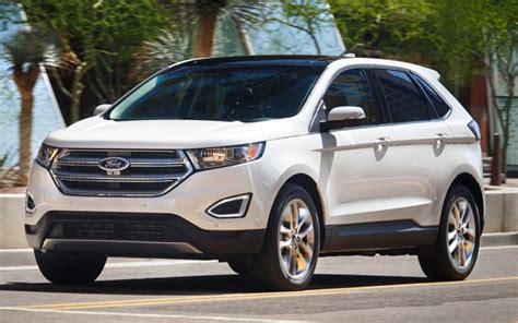 Most Reliable Small Suv 2015 Ford Edge