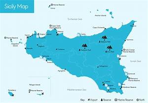 Search Villas in Sicily by Map