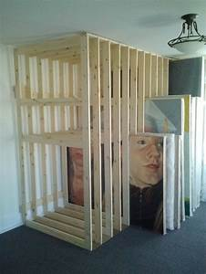 Best 25 art storage ideas on pinterest painting studio for Kitchen cabinets lowes with make your own wall art canvas