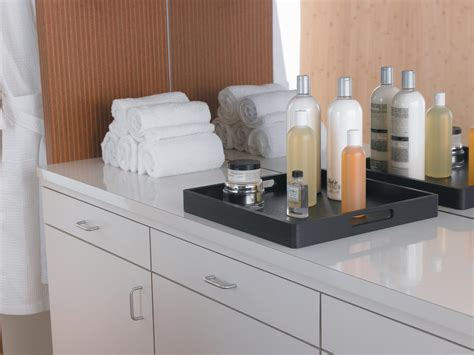 Types Bathroom Countertop Materials by Practical Durable Surfaces High Pressure Laminate