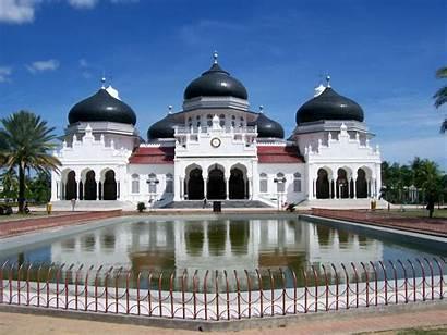 Mosque Grand Baiturrahman Tantular Aceh