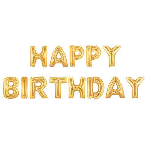 happy birthday letters happy birthday letter balloons happy birthday banner