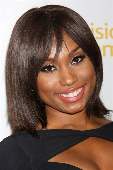 Black Hairstyles Bob With Bangs by 20 Black Hairstyles With Bangs Oozing Mismatched Chic
