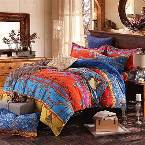 bohemian duvet cover king fadfay brand colorful bohemian duvet covers 4856