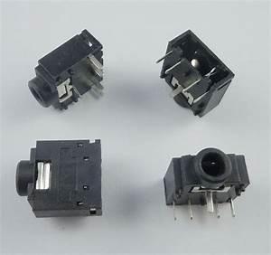 50pcs 3 5mm Stereo Audio Socket Phone Jack Connector 3 Pin Pcb Mount Pj307c