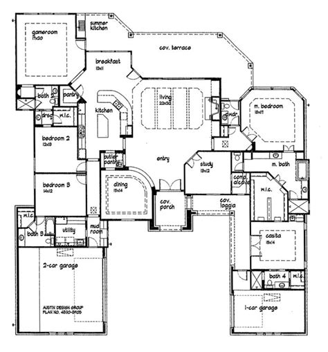 unique house plans with open floor plans unique open floor plans custom golf course homes floor plans home plans for the home