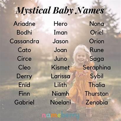 Names Mystical Boy Unique Boys Mystische Babynamen