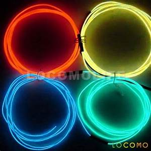 Motor Lighting Wire Neon Light Music Sensor The Future