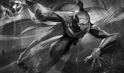 Vayne Splash Project Concept League Legends Pan