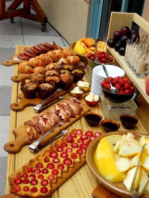 Breakfast Buffet Table On Pinterest