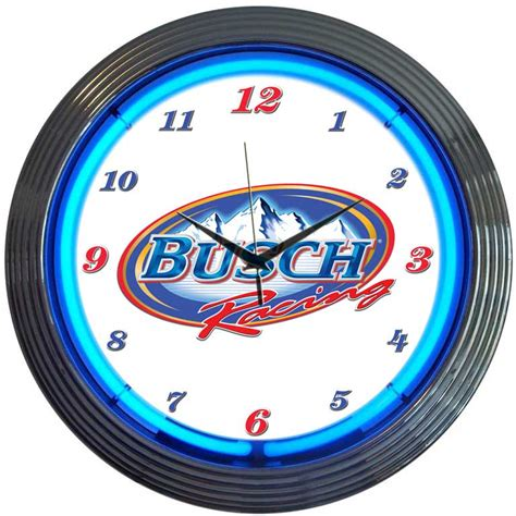 lighted clocks for sale beer neon clocks budweiser neon wall clocks for sale