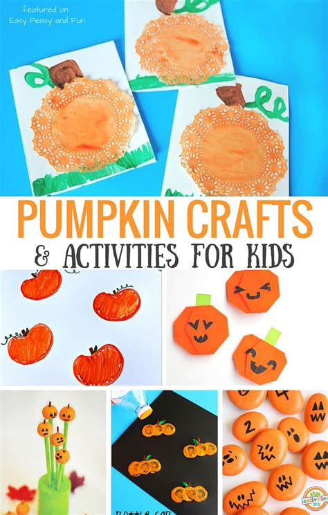 pumpkin crafts and activities for easy peasy and 906 | Pumpkin Crafts and Activities For Kids