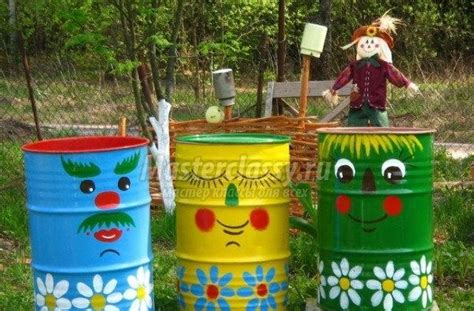 Garden Decoration With Waste by Garden Decoration With Waste Material