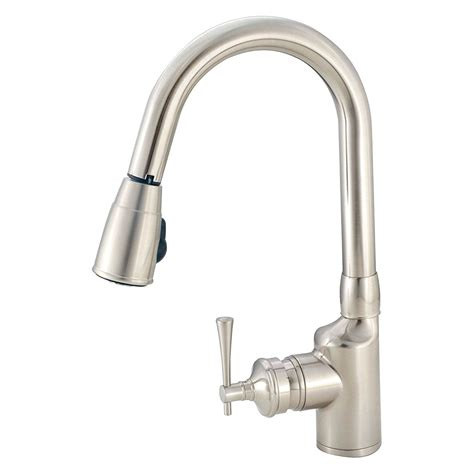 Brass Faucet Kitchen by American Brass 174 Pull Kitchen Faucet Cerid
