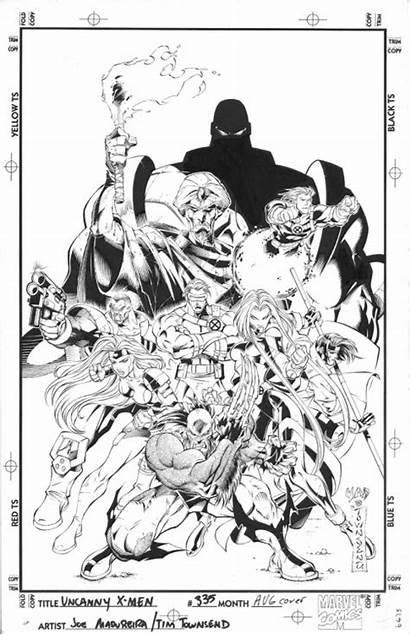 Joe Madureira Comic Uncanny Marvel Zodiack Salvo
