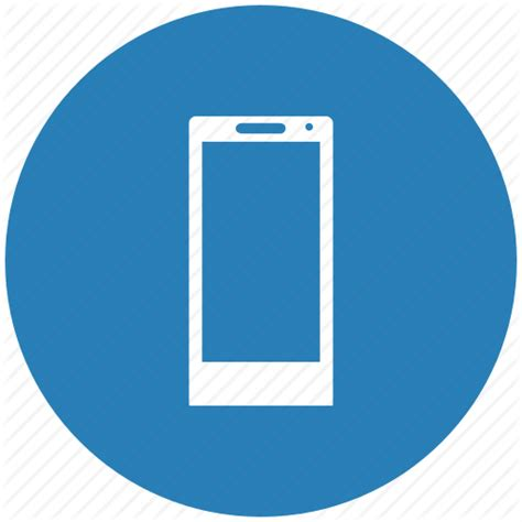 blue phone icon transparent blue mobile phone icon icon search engine