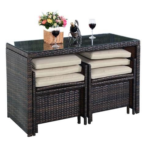 chaise en r sine tress e stunning table haute de jardin en resine tressee