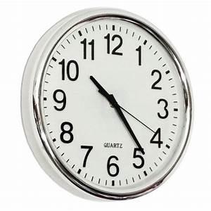 Horloge Murale Silencieuse : horloge murale silencieuse garantie sans tic tac ~ Melissatoandfro.com Idées de Décoration