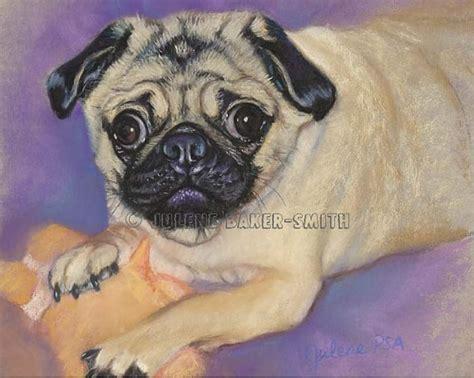 Pug Decor by Pug Art Pug Playing Pug Gift Pug Decor By Artbyjulene On Etsy