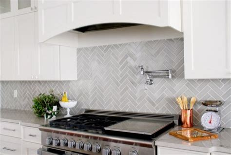 glass tile backsplash pictures for kitchen design trends 7 ways to use herringbone in your kitchen