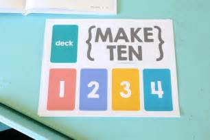 Strategies for collectible and traditional card games from passionate players. Make Ten {an easy card game for kids} - Mama.Papa.Bubba.