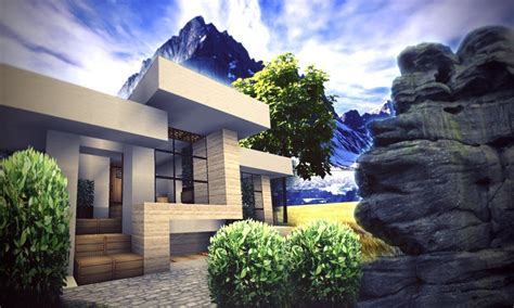 small house designs small modern house minecraft cool