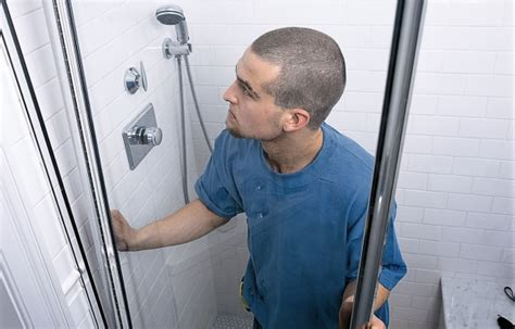 How to Install a Shower Door   This Old House