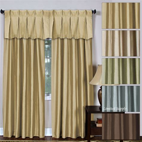 Pleated Curtains And Drapes - providence back tab pinch pleat window treatment