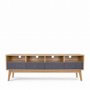 meuble tv scandinave 4 tiroirs skoll by drawer With boutique design scandinave meubles