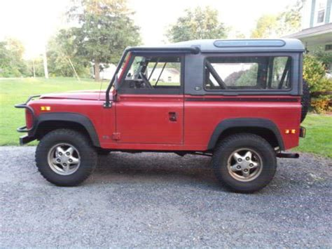 find used 1994 land rover defender 90 in abingdon maryland united states