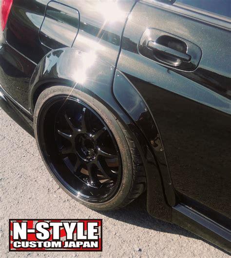 Nstyle Custom Gdb Subaru Fender Flares  Nstyle Custom