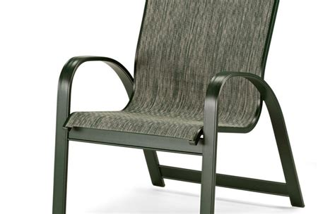 Outdoor Patio And Furniture Slingback Chairs Coleman