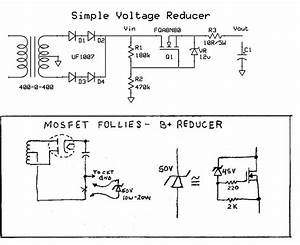 Zener Diode Trick To Lower B  Volts