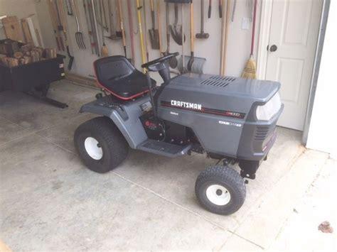 used mower deck for craftsman craftsman 14 hp lawn tractor kohler engine 42