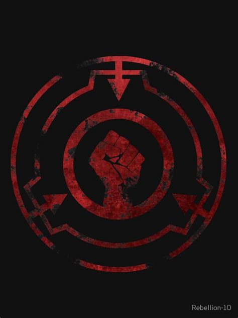 Scp Symbol Drone Fest Features stamped scp emblem / logo with text thaumiel. scp symbol drone fest