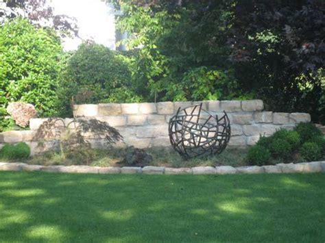 Skulpturen Im Garten by Garten Skulptur Aus Rohr Geschwei 223 T Durchmesser 80 Cm