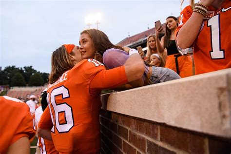 Maybe you would like to learn more about one of these? Look: Trevor Lawrence, Marissa Mowry share wedding photos